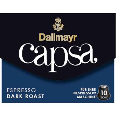 Dallmayr Espresso Dark Roast Capsa Coffee for Nespresso