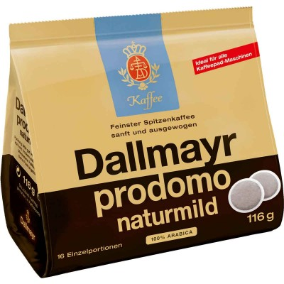 Dallmayr Naturmild Single Serve Pods 16 Pack