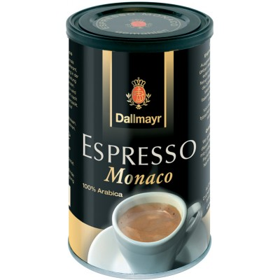 Dallmayr Espresso Monaco Ground Coffee Tin