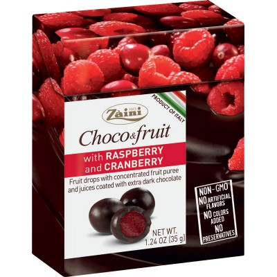 Zaini Choco & Fruit Drages Cranberry & Raspberry