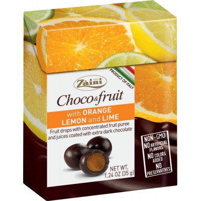 Zaini Choco & Fruit Drages Citrus