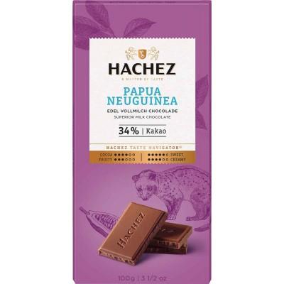 Hachez Papau New Guinea 34% Chocolate Bar