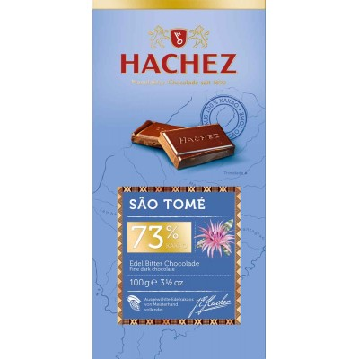 Hachez Sao Tome 73% Chocolate Bar
