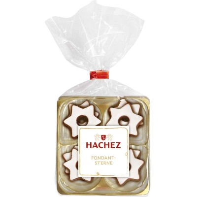 Hachez Chocolate Dipped Fondant Stars