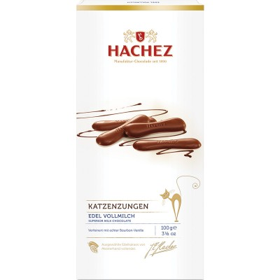 Hachez Cat Tongues Chocolate Gift