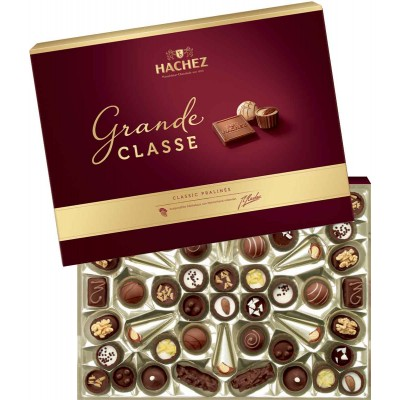 Hachez Grande Classe Luxury Pralines Gift Box