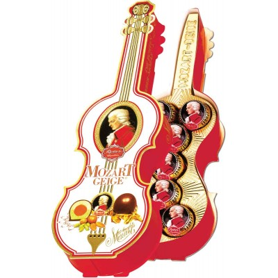 Reber Mozart Kugeln Violin Gift Box
