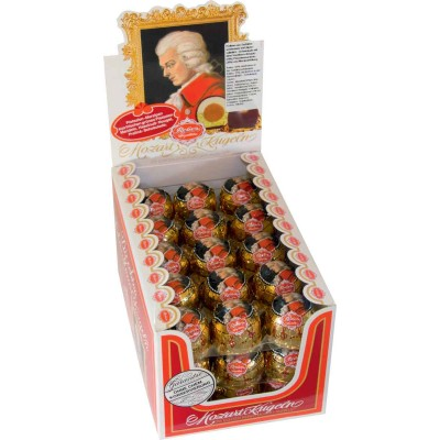 Reber Mozart Kugel Counter Display
