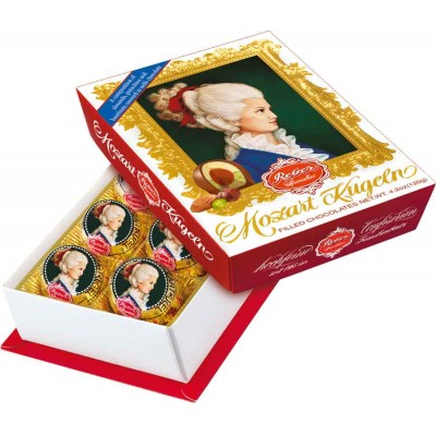 Reber Constanze Kugeln 6 Piece Portrait Box