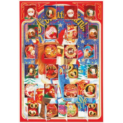 "Reber ""Santa Claus"" Advent Calendar 24 PC"