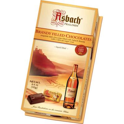 Asbach Small Brandy Filled Zarte Pralinen Box