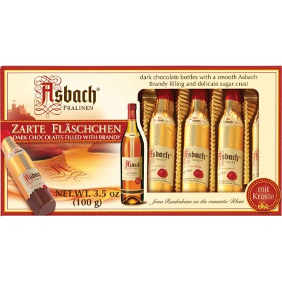 Asbach Brandy Bottles 8 Pack Gift