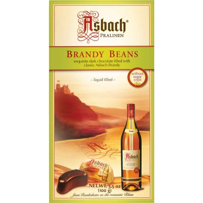 Asbach Small Brandy Filled Chocolate Beans