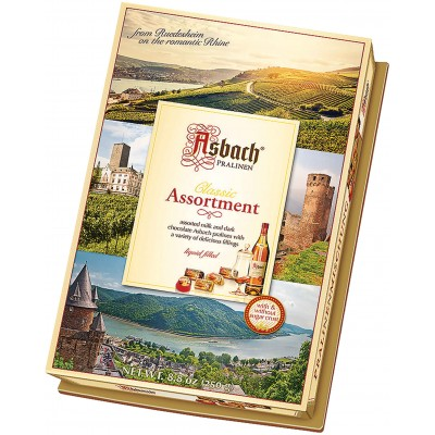 Asbach Brandy Pralines Assorted Box