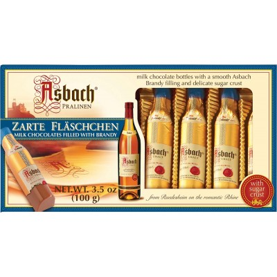Asbach Brandy Bottles Counter Display-Milk