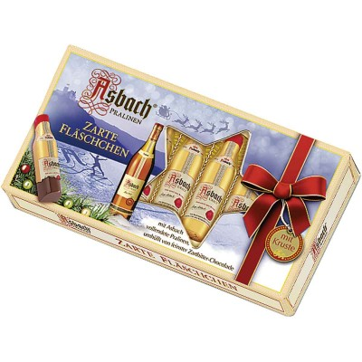 Asbach Bottles in Festive Gift Box 8PC
