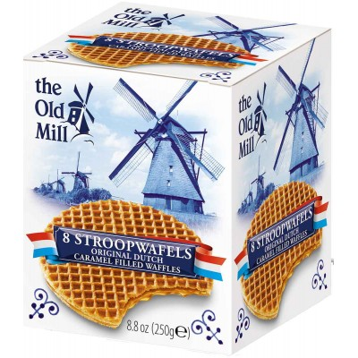 The Old Mill Stroopwafels in Box