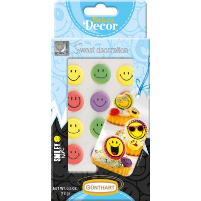 Günthart Sugar Multi Color Smileys