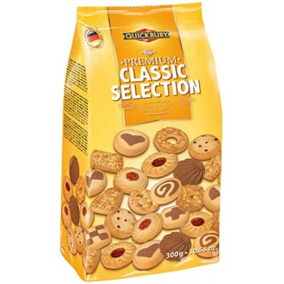 Quickbury Premium Classic Assorted Cookie Selection