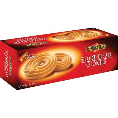 Quickbury Shortbread Cookie Box