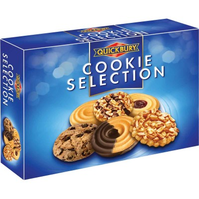 Quickbury Cookie Selection Box
