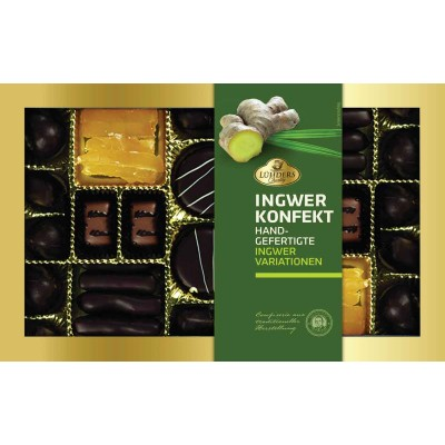 J Luehders Premium Ginger Candies & Chocolates