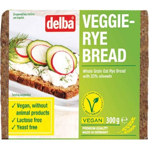 Delba Vegan Veggie Rye Bread