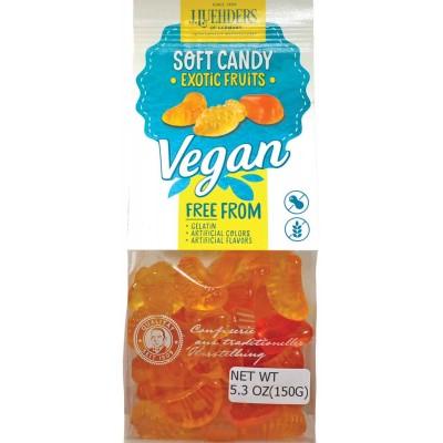 J. Luehders Exotic Fruit Vegan Gummies Bag