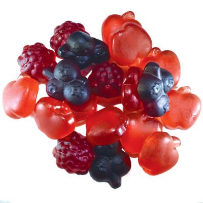 J. Luehders Red Berries Vegan Bulk Gummies