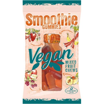 J Luehders Ruby Smoothie Vegan Gummies