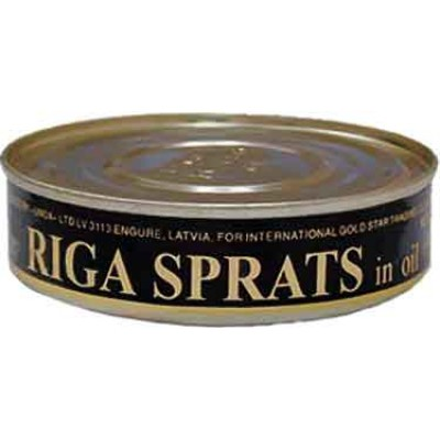 Riga Smoked Latvian Sprats