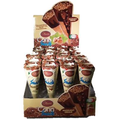 Messori Hazelnut Cream Cono Snacks Counter Display