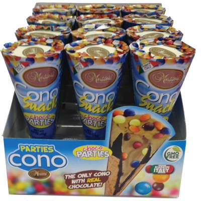 Messori Cono Snack Parties 96ct Master Display