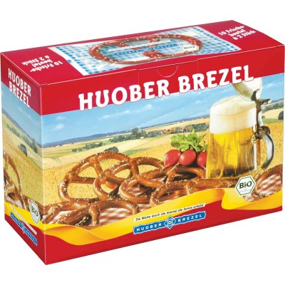 Huober Pretzels POP Display 2 Pack 10 Ct Box
