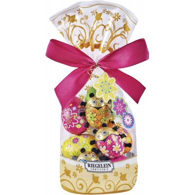 Riegelein Chocolate Eggs & Beetles Easter Bag