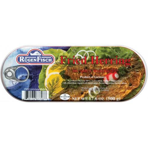 RugenFisch Fried Herring in Marinade