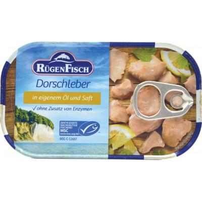 Rugenfisch Cod Liver Bits