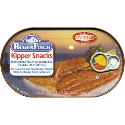 RugenFisch Kipper Snacks Herring Fillet