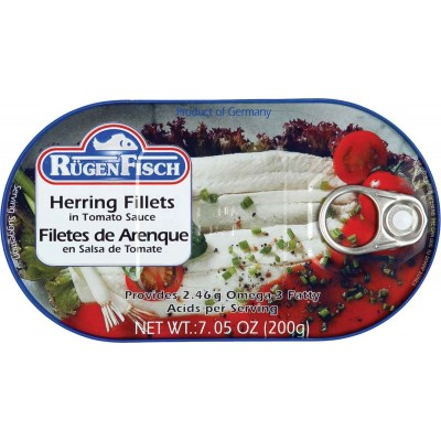 RugenFisch Herring in Tomato Sauce