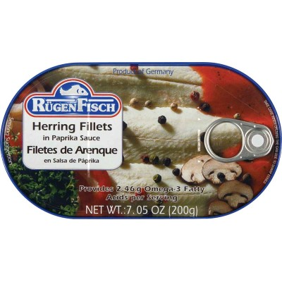 RugenFisch Herring in Paprika Sauce
