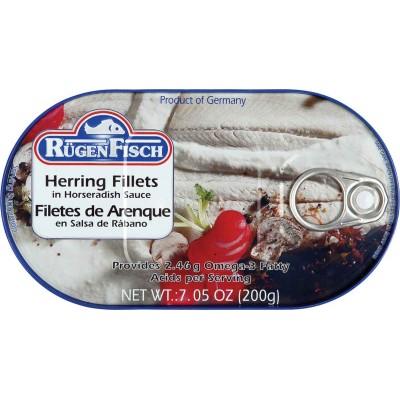 RugenFisch Herring in Horseradish Sauce