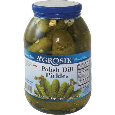 Agrosik Polish Dill Pickles