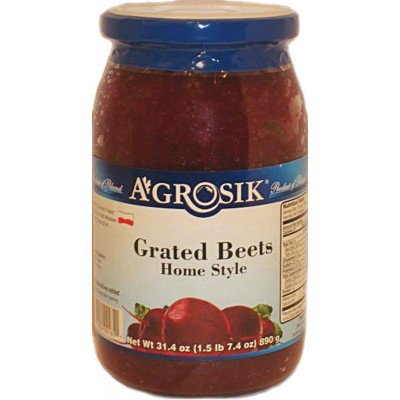 Agrosik Grated Homestyle Beets