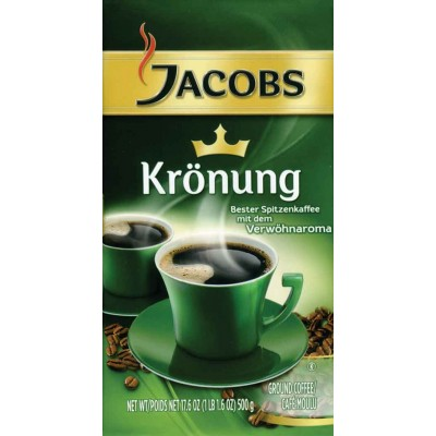 Jacobs Kronung Ground Coffee Vacpac