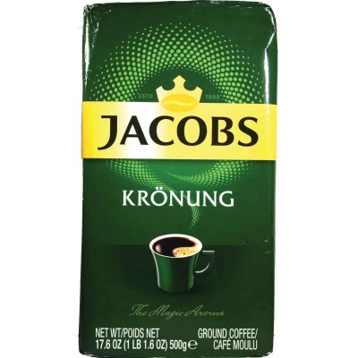 Jacobs Kronung Ground Coffee Large