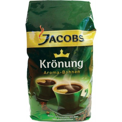 Jacobs Kronung Whole Bean Coffee Vacpac