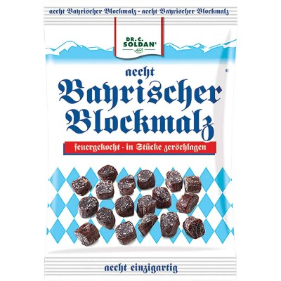 Dr. Soldan Bavarian Blockmalt Cough Drops