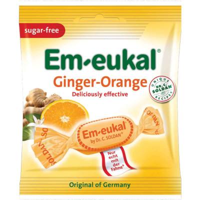 Dr Soldan Ginger Orange Lozenges Sugar Free