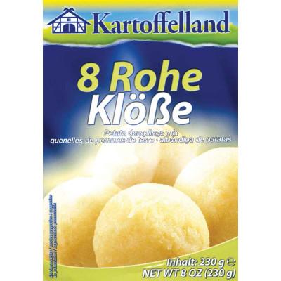 Kartoffelland 8 Raw Potato Dumplings