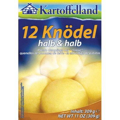 Kartoffelland 12 Halb and Halb Dumplings Mix